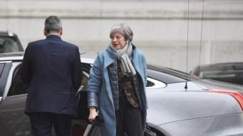 """May insiste en renegociar el acuerdo del """"brexit"""""""