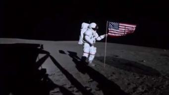 Celebran el 50 aniversario de la llegada a la luna