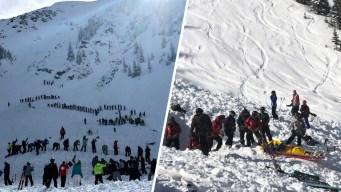 Avalancha sepulta a esquiadores en un resort; un muerto