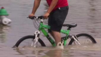 Comunidad ubicada entre la Feria y Santa Rosa bajo agua