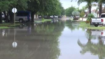 Residentes de Roma bajo el agua tras tormentas