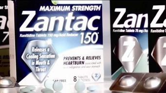 """FDA: Zantac tiene """"niveles inaceptables"""" de nitrosamina"""