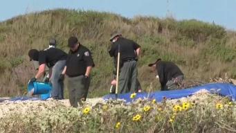 Desentierran dos cuerpos de la playa en Padre Island