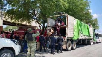 México: Hallan a 80 migrantes en la caja de un camión