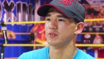 Dimas DeLeón se prepara para defender su récord invicto en el ring