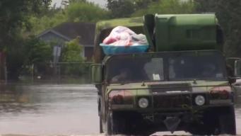 Fondos federales para damnificados por inundaciones