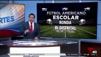 Fútbol americano escolar: Ronda bidistrital
