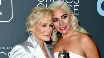 Lady Gaga y Glenn Close empatan como mejor actriz