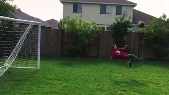 Joven de 12 años muestra su talento de sobra en el fútbol
