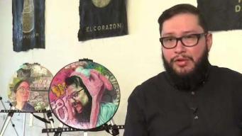Joven mexicano exhibe sus obras en la Gran Manzana