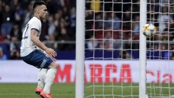"""""""El Torito"""" quiere ganar la Copa América con Argentina"""