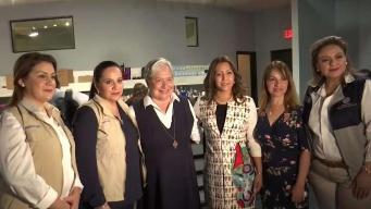 Primeras damas de Honduras y Guatemala visitan McAllen