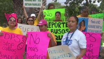 Protestan en contra del Departamento Seguridad Pública