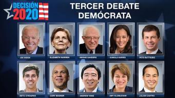 Tercer debate demócrata: los participantes y las reglas