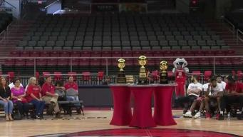RGV Vipers celebran su campeonato de la NBA G League