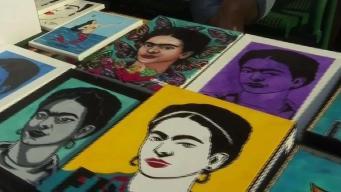 Residentes plenan el festival anual dedicado a Frida Kahlo