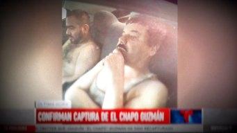 Primeros en informarte la recaptura del Chapo Guzmán