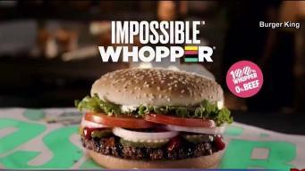 """Demandan a Burger King por la """"Impossible Whopper"""""""