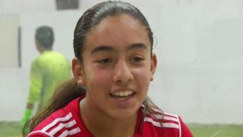 Yolibeth Álvarez, deportista imparable en el fútbol local
