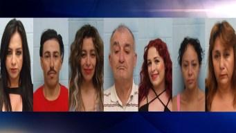 Realizan varios arrestos en redada de prostitución