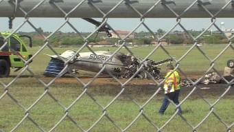 Tres muertos tras estrellarse avioneta en Laredo
