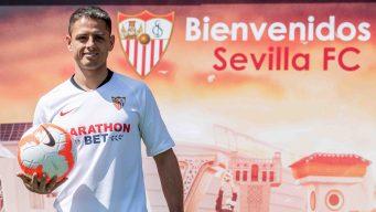 """Javier """"Chicharito"""" Hernández se incorpora al Sevilla"""