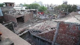 Explosión en fábrica deja veintena de muertos en India