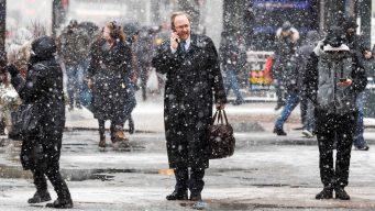 Al menos dos muertos por nevadas que azotan EEUU