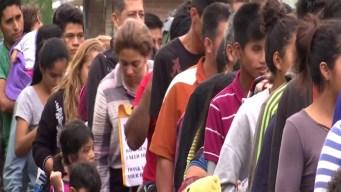 Afirman que no dan abasto para atender a inmigrantes