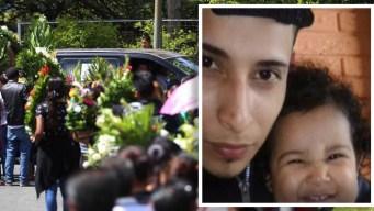 Sepultan en El Salvador a padre e hija ahogados