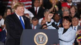 """""""Maduro es una marioneta de Cuba"""", dice Trump"""