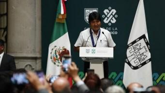 Cancillería: libertad de expresión de Morales no viola asilo