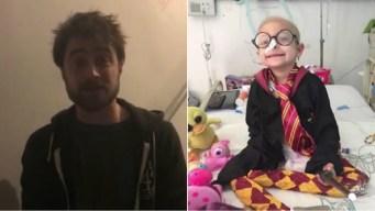 Harry Potter hace magia: envía videomensaje a nena mexicana