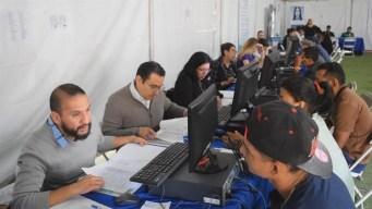 Ofrecen empleo en la frontera a 225 migrantes