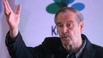 """Vicente Fox: AMLO hará """"robar o matar"""" a exfuncionarios"""