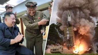 En video: Kim se regocija al probar sus nuevos misiles