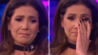 """Paty Manterola se echa a llorar en """"Siempre Niños"""""""