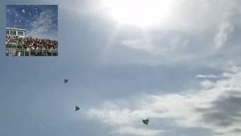 Un globo por cada víctima mortal: homenaje en El Paso