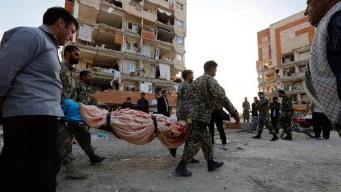 Irán decreta día de luto nacional por víctimas de terremoto