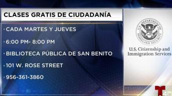 Clases de ciudadanía gratis en San Benito