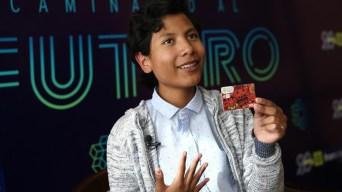 """""""Niño banquero"""" presenta propuesta de banca infantil"""