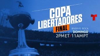 Final de la Copa Libertadores se verá por Telemundo