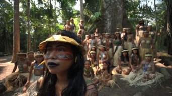 Tribu realiza ritual para dar fin a los incendios en Amazonia