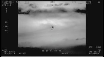 Armada chilena confirma avistamiento de un OVNI