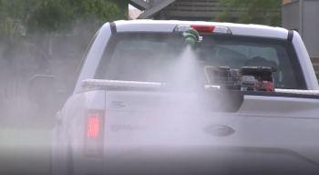 Refuerzan fumigaciones para evitar plagas de mosquitos