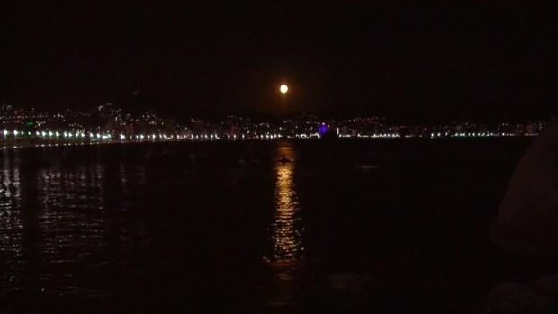 [TLMD - LV] Súper luna de nieve en acapulco México