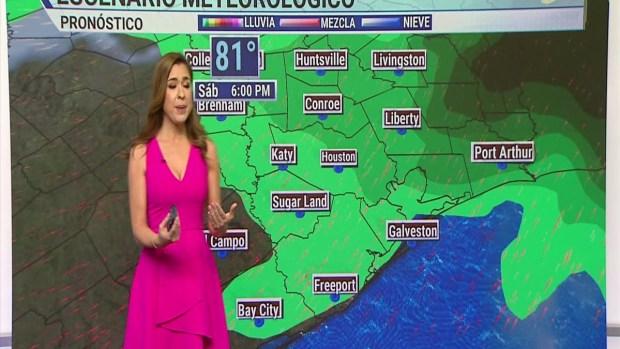 [TLMD - Houston] Pronóstico del tiempo para zonas de Texas en medio de las tormentas