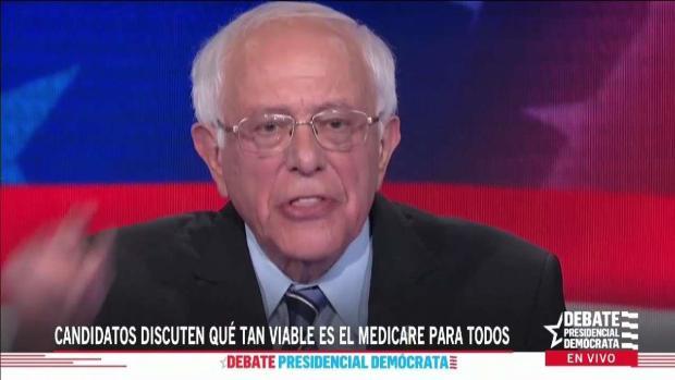 """Sanders: """"El cuidado de la salud es un derecho humano"""""""
