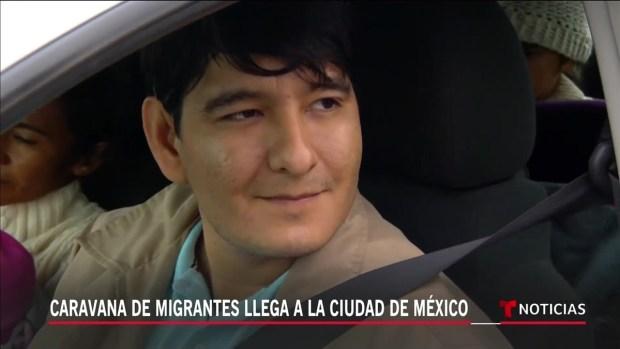 [TLMD - Chicago] Caravana de migrantes llega a Ciudad de México