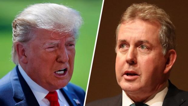 Dichos de Embajador desatan la ira de Trump